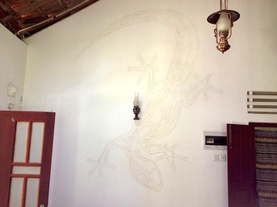 Gecko Mural